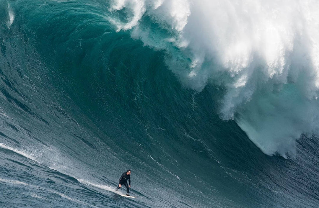 Chasing the biggest wave in the world